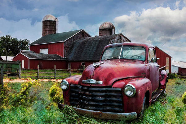 Photograph - Chevrolet In The Countryside On A Summer Day by Debra and Dave Vanderlaan