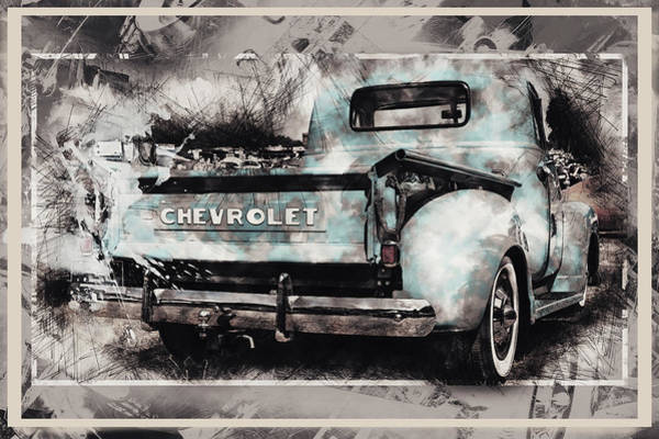 Pick Up Truck Digital Art - Chevrolet Workhorse by Tim Palmer