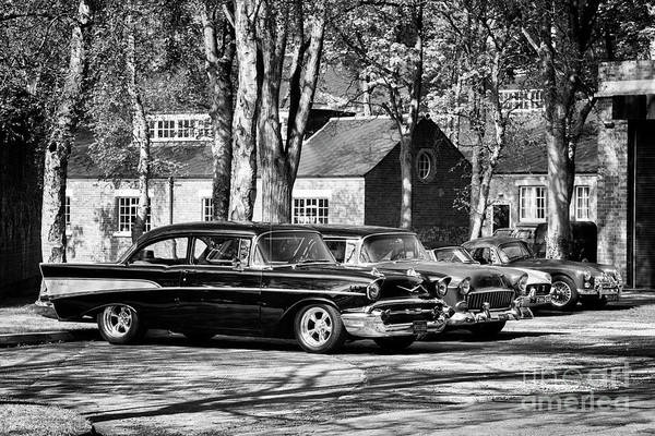 Photograph - Chevrolets Monochrome by Tim Gainey