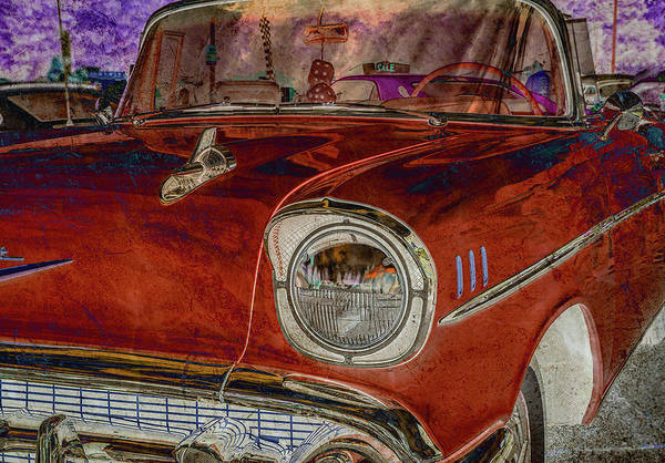 Photograph - Chevy Classic Difference by Keith Smith