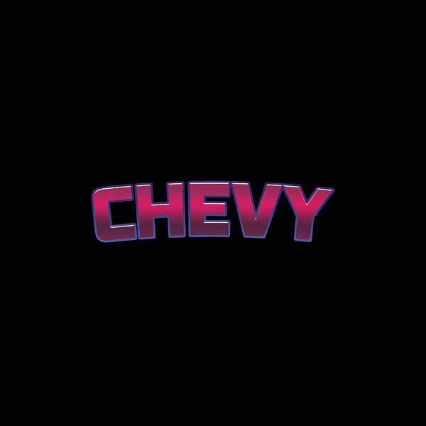 Wall Art - Digital Art - Chevy by TintoDesigns