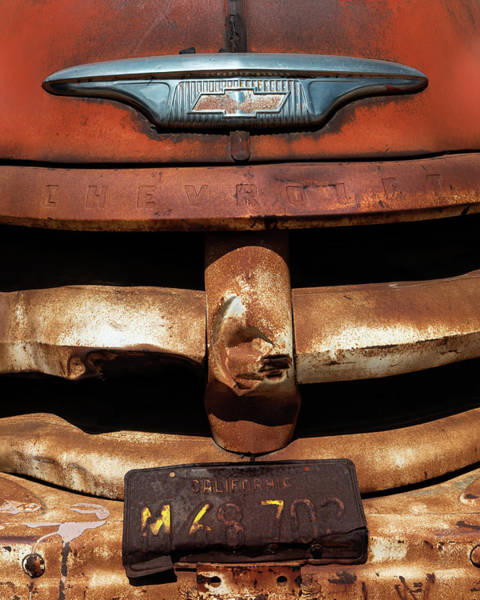 Wall Art - Photograph - Chevy Truck by Joseph Smith