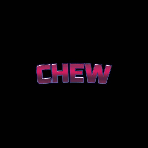 Chewing Wall Art - Digital Art - Chew by TintoDesigns