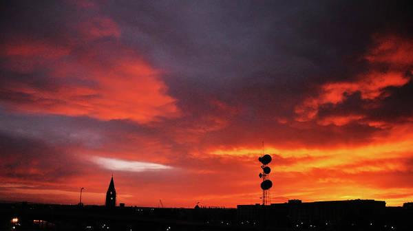 Photograph - Cheyenne, Wyoming Sunset by Chance Kafka