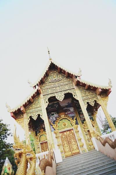 Chiang Mai Province Photograph - Chiang Mai Temple by Carlina Teteris