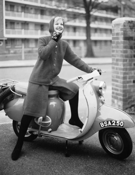 Photograph - Chic On Wheels by Chaloner Woods