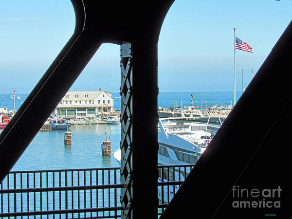Photograph - Chicago And A View From A Bridge by Roberta Byram
