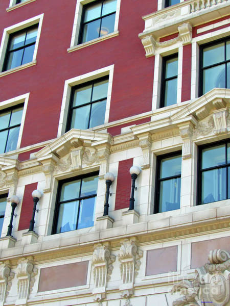 Photograph - Chicago And Architectural Details by Roberta Byram