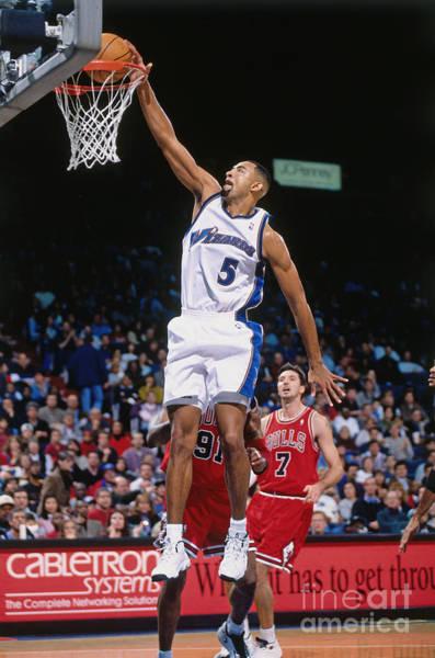 Photograph - Chicago Bulls V Washington Wizards by Mitchell Layton