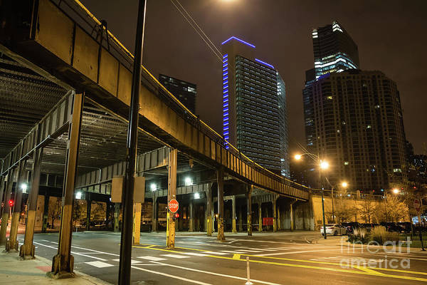 Train Car Photograph - Chicago City Streets by Bruno Passigatti