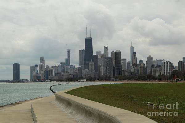 Wall Art - Photograph - Chicago City View by Christiane Schulze Art And Photography