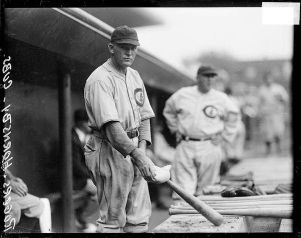 Photograph - Chicago Cubs Baseball Player Rogers by Chicago History Museum