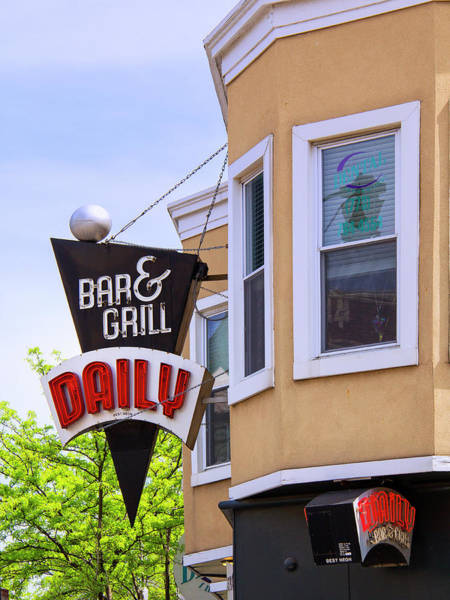Wall Art - Photograph - Chicago Daily Daily Bar And Grill by William Dey