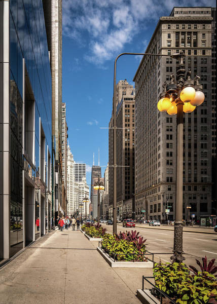 Photograph - Chicago Downtown by Framing Places