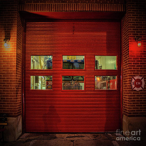 Wall Art - Photograph - Chicago Fire by Bruno Passigatti