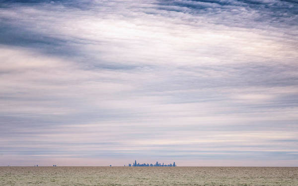 Photograph - Chicago From Indiana Dunes by Framing Places