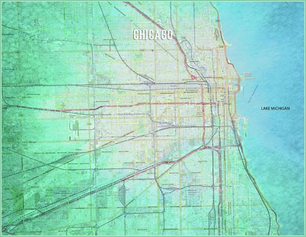 Chicago River Digital Art - Chicago by Gary Grayson