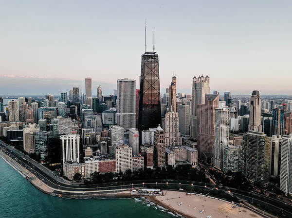 Wall Art - Photograph - Chicago Gold Coast And North Magnificent Mile by Daniel Hagerman