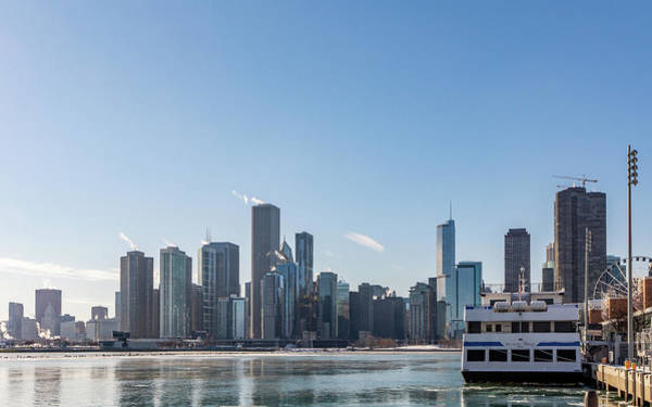 Photograph - Chicago Harbor by Framing Places