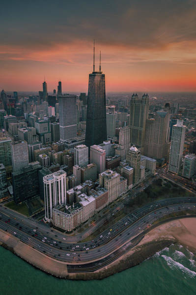 Photograph - Chicago High by Josh Eral