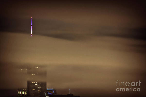 Skyscrapers Wall Art - Photograph - Chicago In Fog by Bruno Passigatti