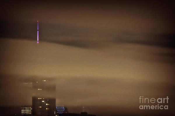 Skyscraper Wall Art - Photograph - Chicago In Fog by Bruno Passigatti