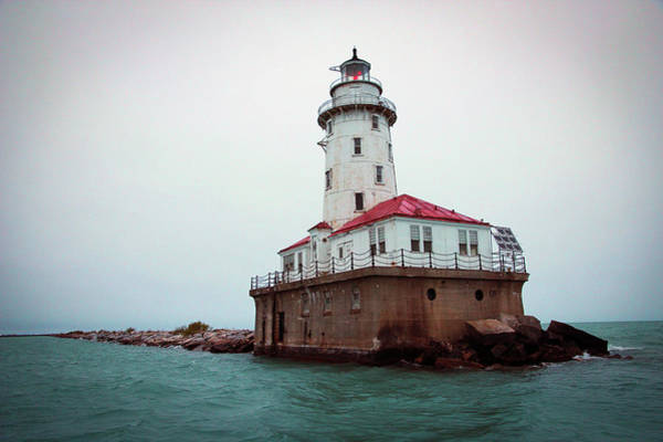 Photograph - Chicago Lighthouse by Fred DeSousa