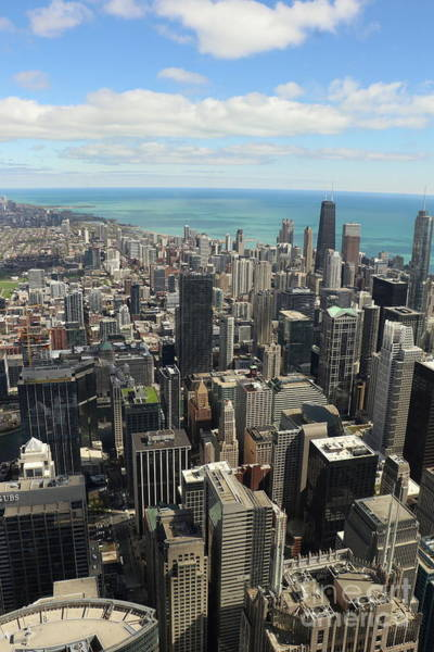 Photograph - Chicago Overview  by Christiane Schulze Art And Photography