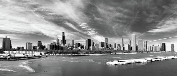 Lake George Photograph - Chicago Panorama by George Imrie Photography