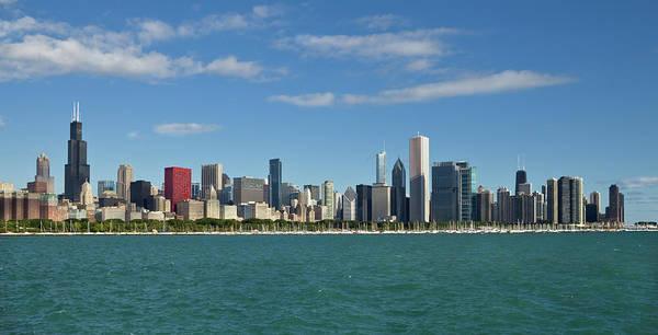 Lake Photograph - Chicago Panorma by Kubrak78