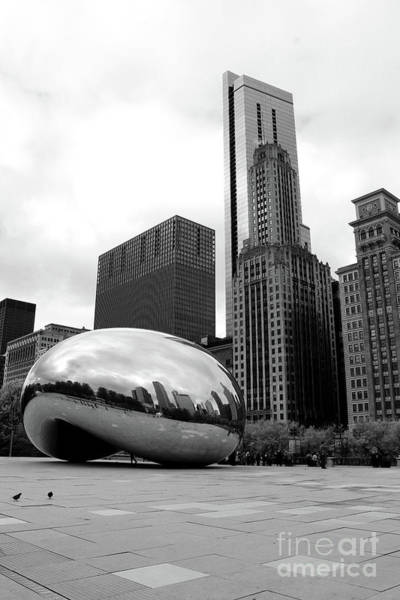 Wall Art - Photograph - Chicago Reflection In The Bean by Christiane Schulze Art And Photography