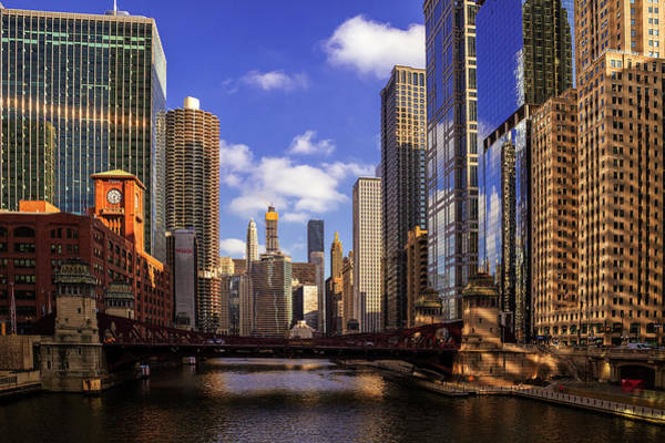Wall Art - Photograph - Chicago River View by Andrew Soundarajan