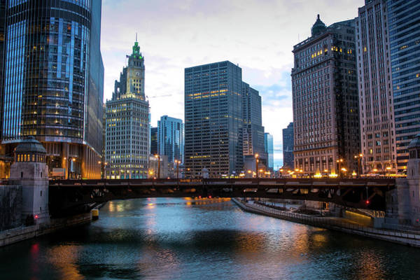 Lake George Photograph - Chicago Shivers Through A Cold Spring by George Rose