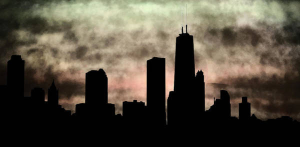 Photograph - Chicago Skyline And Paint by Marilyn Hunt