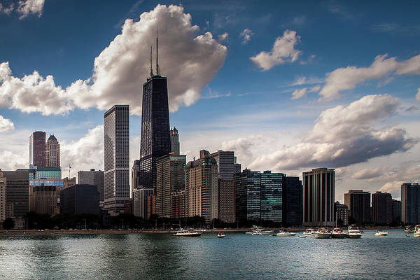 Wall Art - Photograph - Chicago Skyline by Andrew Soundarajan