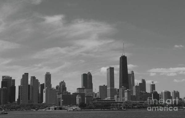 Wall Art - Photograph - Chicago Skyline From Lake Michigan by Christiane Schulze Art And Photography