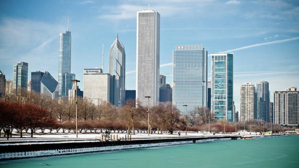 Lake George Photograph - Chicago Skyline by George Imrie Photography