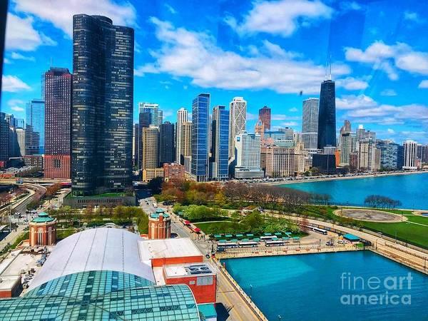 Wall Art - Photograph - Chicago Skyline by Whitney Davison