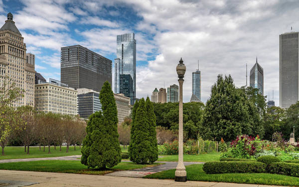 Photograph - Chicago Summer Day by Framing Places