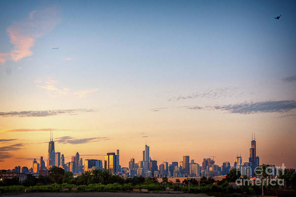 Wall Art - Photograph - Chicago Sunrise by Bruno Passigatti
