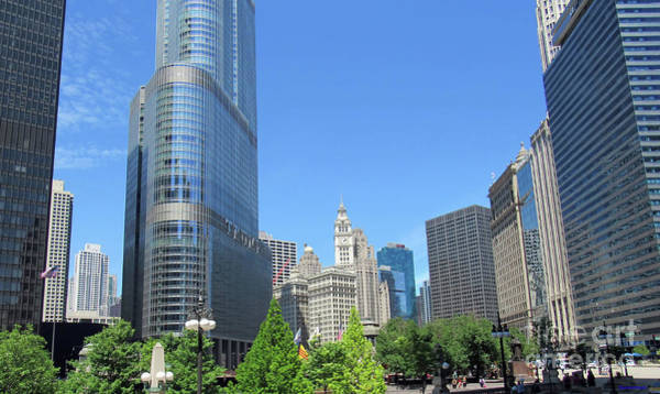 Photograph - Chicago The Beautiful City by Roberta Byram