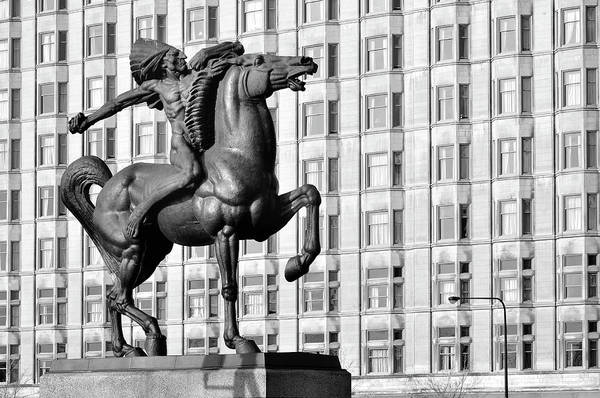 Wall Art - Photograph - Chicago The Spearman by Chicago In Photographs
