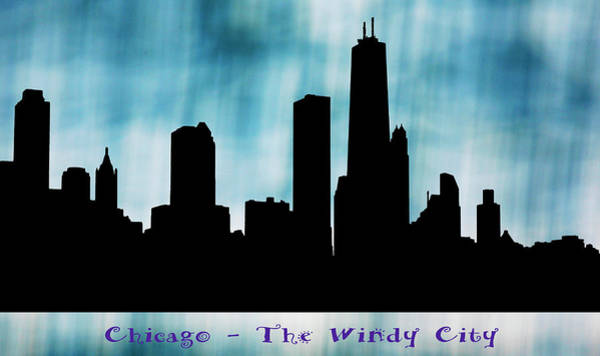 Digital Art - Chicago The Windy City by Marilyn Hunt