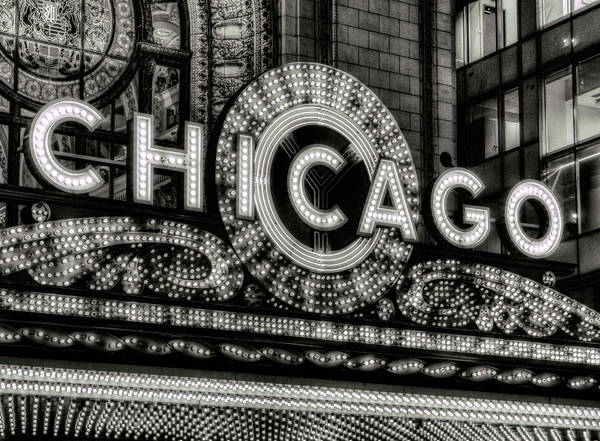 Wall Art - Photograph - Chicago Up In Lights by Daniel Hagerman