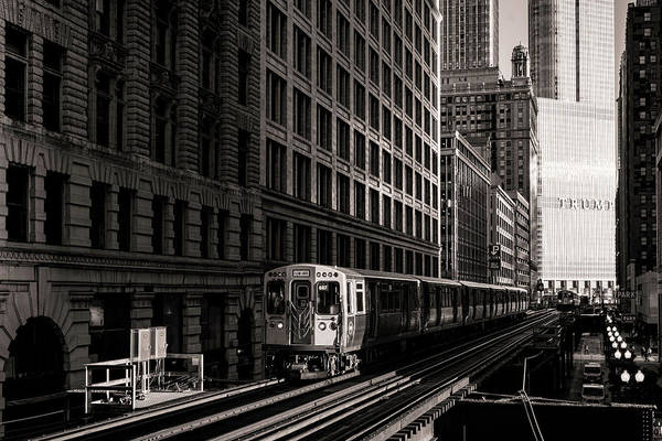 Wall Art - Photograph - Chicago Wabash Avenue Light Corridor by Chicago In Photographs