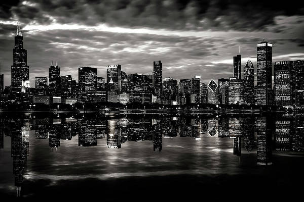 Wall Art - Photograph - Chicago Waterfront Skyline by Daniel Hagerman