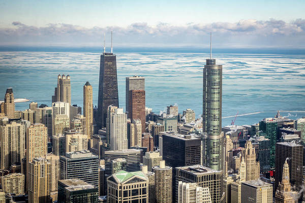 Photograph - Chicago Winter View by Framing Places