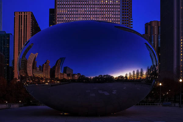 Wall Art - Photograph - Chicago's Bean by Andrew Soundarajan