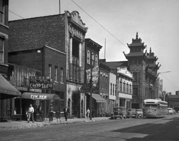 Wall Art - Photograph - Chicagos Chinatown by Chicago History Museum