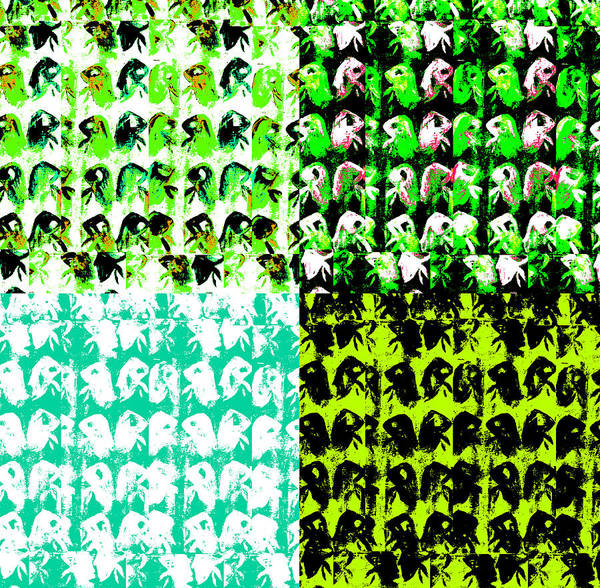 Digital Art - Chicken Farm 4 by Artist Dot
